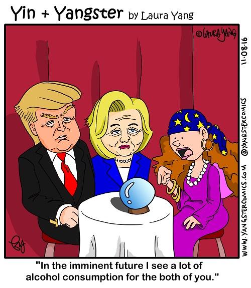 vote donald trump hillary clinton election president prediction forecast