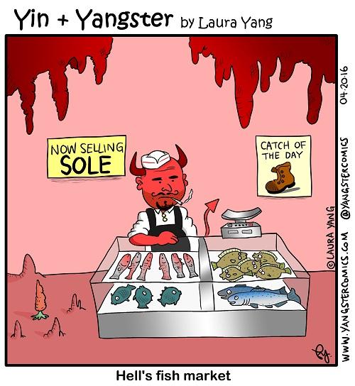 fish market in hell devil sole